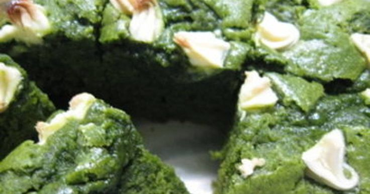 Great recipe for Matcha Green Tea Brownies. Here's my Matcha Green Tea Brownies recipe. I call it 'Japanese.'  *note* I used U.S. size measure cup.