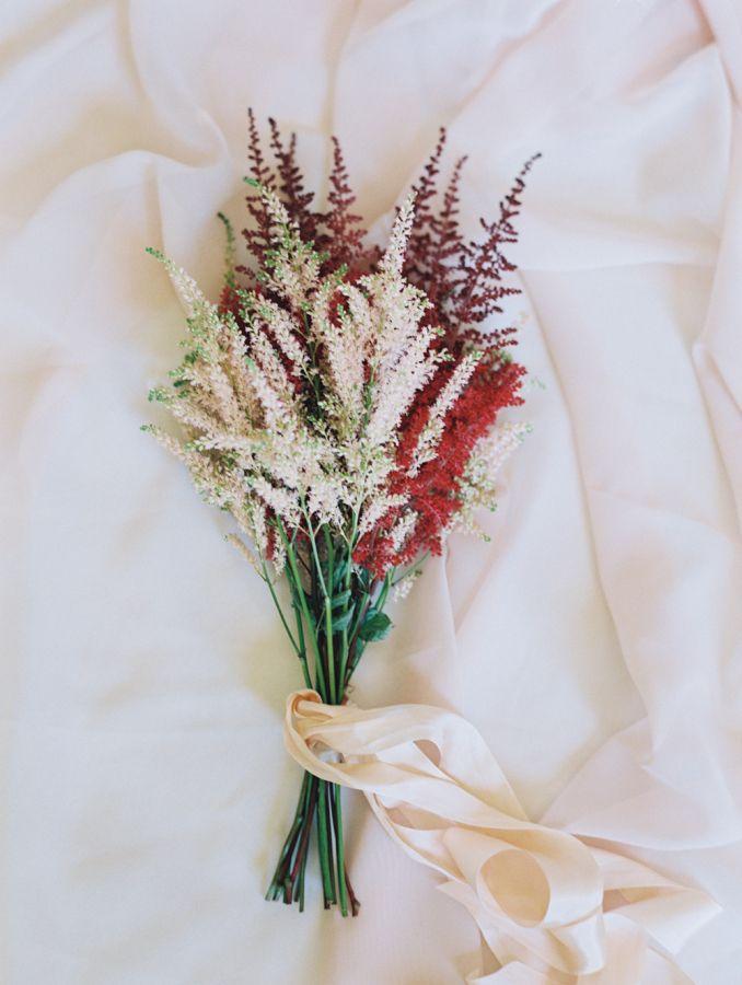 Romantic astilbe bouquet: http://www.stylemepretty.com/little-black-book-blog/2016/06/15/rustic-romance-la-wedding/ | Photography: Diana McGregor Photography - http://www.dianamcgregor.com/