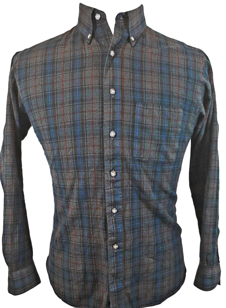 SIR PENDLETON Shirt Size L Men's Blue Plaid L/S Virgin Wool Country Traditional.  http://ebay.to/2j3M5vb  #ebay #fashion #shopping #mens #wool #woolclothing #shirts #casual #casualshirts #save #deals #bargains #vintage #gifts #giftideas #unique #rare  #giftsforhim #forsale