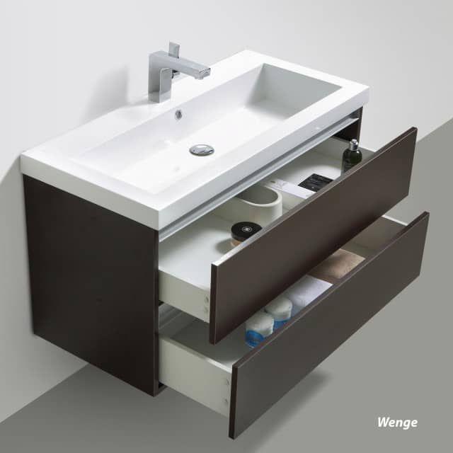 Modernes Badmobelset Bestehend Aus Edlem Gussmarmor Waschbecken Unterschrank Mit Blum Scha Unterschrank Unterschrank Waschbecken Waschbecken Design