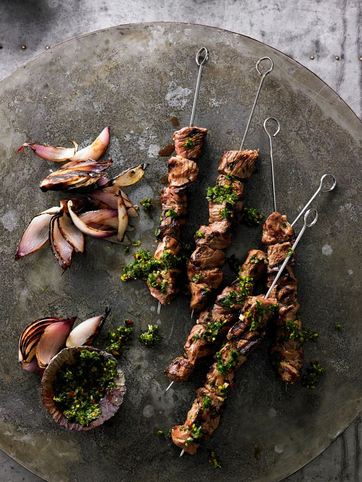 ... spiced lamb kabobs broasheht recipes dishmaps spiced lamb kabobs
