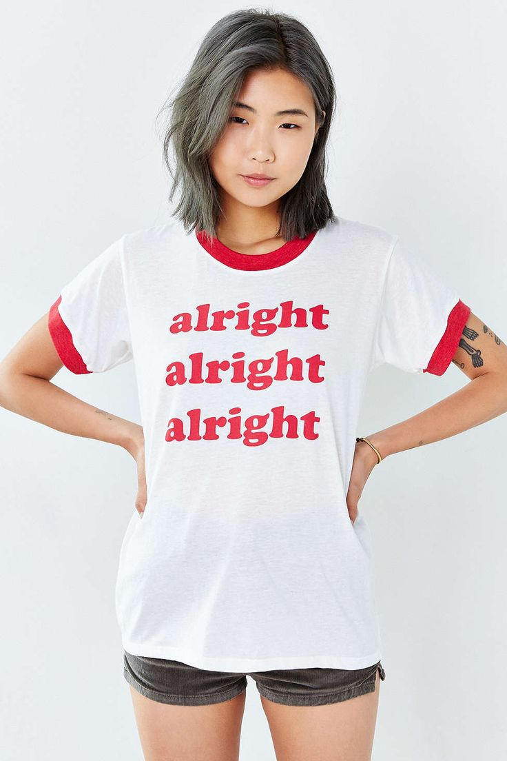 Camp Collection X UO Alright Ringer Tee - Urban Outfitters