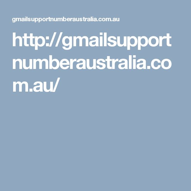 Gmail Technical Support Australia Helpline Number +(61) 283206011