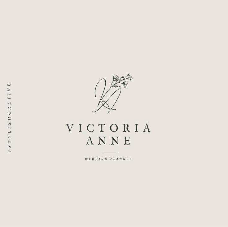 Wedding Branding Ideas: 1329 Best Design // Logo Images On Pinterest