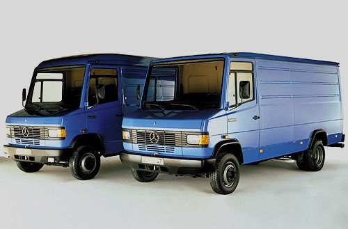 mercedes benz transporter t2 modelle 507 d 811 d 1986. Black Bedroom Furniture Sets. Home Design Ideas