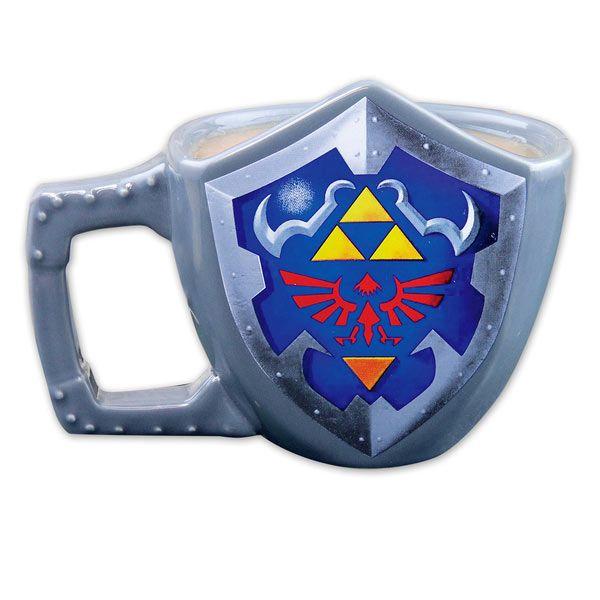 Taza Escudo The Legend of Zelda  Original taza basada en el popular videojuego The Legend of Zelda.
