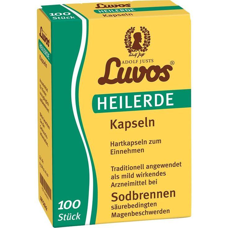 LUVOS Heilerde Kapseln:   Packungsinhalt: 100 St Kapseln PZN: 03420211 Hersteller: Heilerde-Gesellsch.LUVOS JUST GmbH&Co.KG Preis: 10,84…