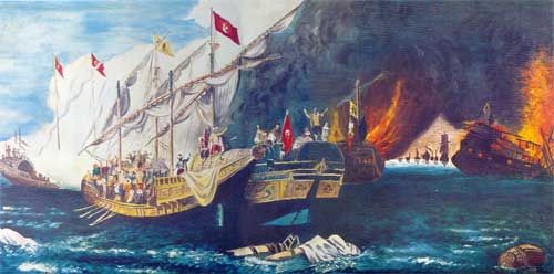 Prevese Sea Battle 1538