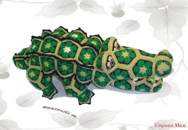 Африканский Кроха-Дил крокодил из мотивов