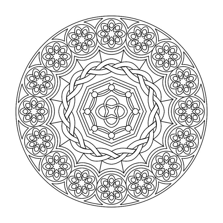 mandala coloring pages pinterest | Printable Mandalas (the boys love to color these) | kids ...