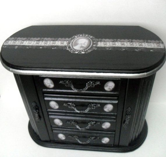 27 best Jewellery Box images on Pinterest Boxes Altered boxes