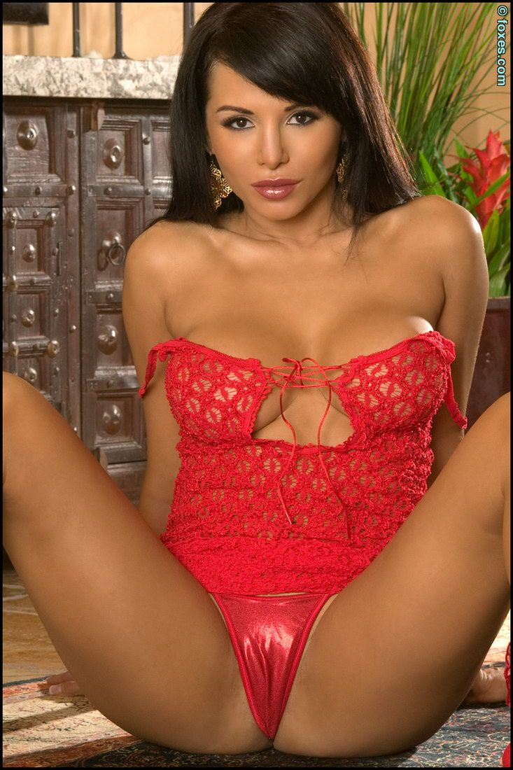 Sexy Lady In Red  Hot Girls In Red-2210