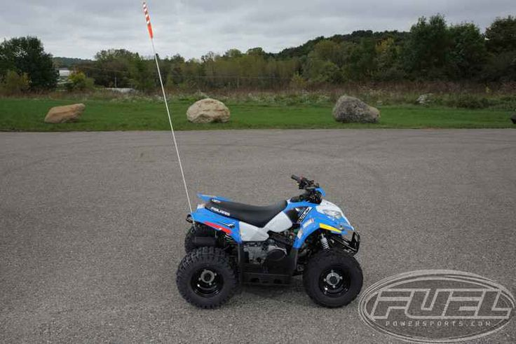 New 2016 Polaris Outlaw 50 Voodoo Blue ATVs For Sale in Wisconsin. 2016 Polaris Outlaw 50 Voodoo Blue, GRAND OPENING SPECIAL Pay NOTHING for 90 Days - ONE LEFT AT THIS PRICE!! Polaris Outlaw 50 is sure to win you parent of the year! 2013 Polaris® Outlaw® 50 BEST SELLING YOUTH ATV Outlaw® 50 - Best-Selling Youth ATV. Polaris® builds the best-selling youth ATVs. The Outlaw® 50 has a 4-stroke 50 engine, 2WD and electric start. Features May Include 4-Stroke Engine Two-Wheel Drive Electric…