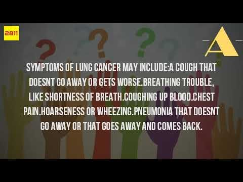 What Are The Symptoms Of Lung Disease? - WATCH THE VIDEO   *** symptoms of lung cancer ***   Prognosis of lung cancer is poor because doctors tend not to find the disease shortness breath what call dyspnea unpleasant sensation having difficulty breathing. But it develops slowly over many years and you may not be aware treats lung disease is consulted...