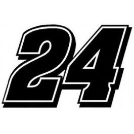 Jeff Gordon 24 Racing Decal Jeff Gordon Pinterest