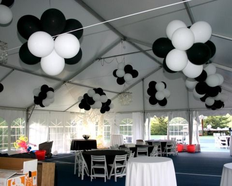1000 images about hanging balloons on pinterest balloon for Balloon chandelier decoration