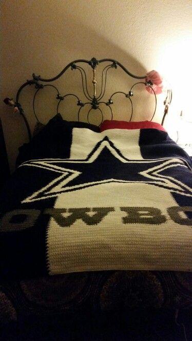 Dallas Cowboys Crochet Blanket