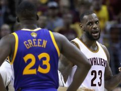 LeBron James And Steph Curry Arguing Is The Best Part Of The Finals