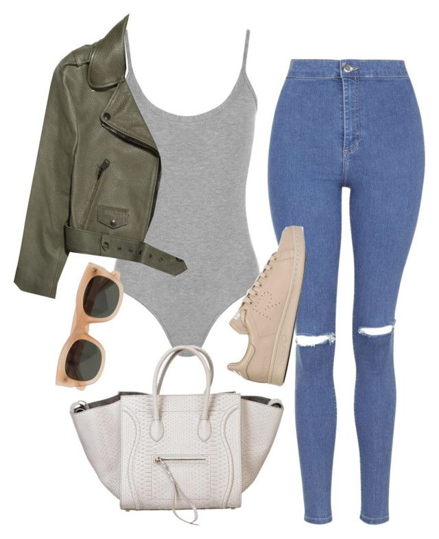 """""""Disclosure - Jaded"""" by rocroyalzboo ❤ liked on Polyvore featuring WearAll, Topshop, Acne Studios, CÉLINE, J.Crew and adidas"""