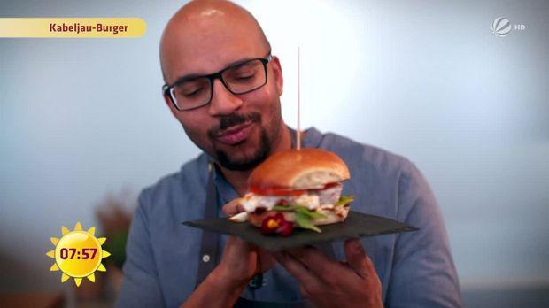 Leben&Genießen: Kabeljau-Burger - Frühstücksfernsehen - Sat.1