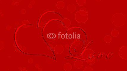 Cartolina Scarlatta di Auguri San Valentino - Love #microstock #marketing #webdesign #design #WebContent #SEO #csstemplates #css #HTML5 #Websites #web20k #web2015 #web
