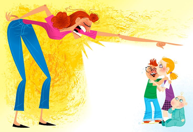 i-rena: Γιατί δεν πρέπει να φωνάζουμε στα παιδιά...