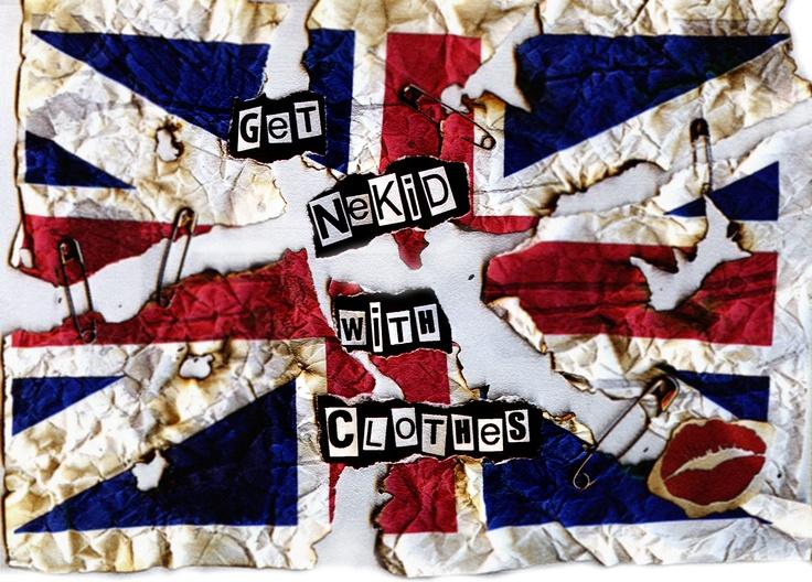 #Random #acts of #funzies #unionjack #naked #flag #kiss