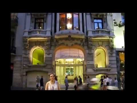 ANNIE'S SONG IN BARCELONA with PANPIPE & HARP MP4
