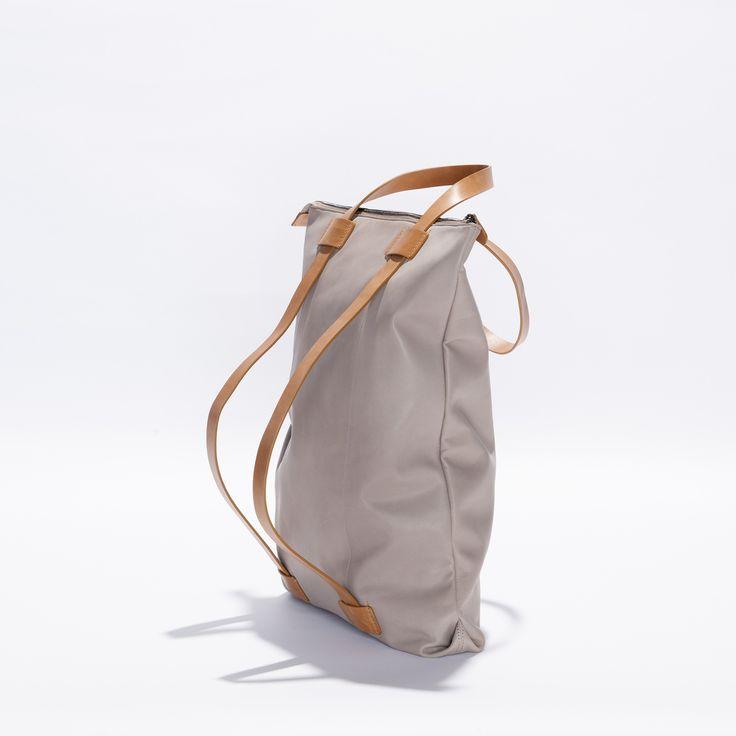 Wanderlust Backpack Bag - Cement/Tan