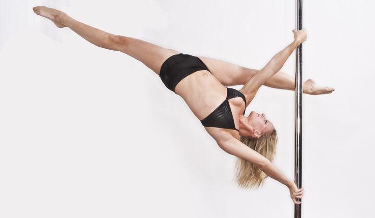Fortalece el #abdomen con este #ejercicio básico de POLE DANCE