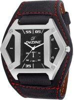 Dezine DZ-GSQ902-BLK-BLK Analog Watch  - For Men