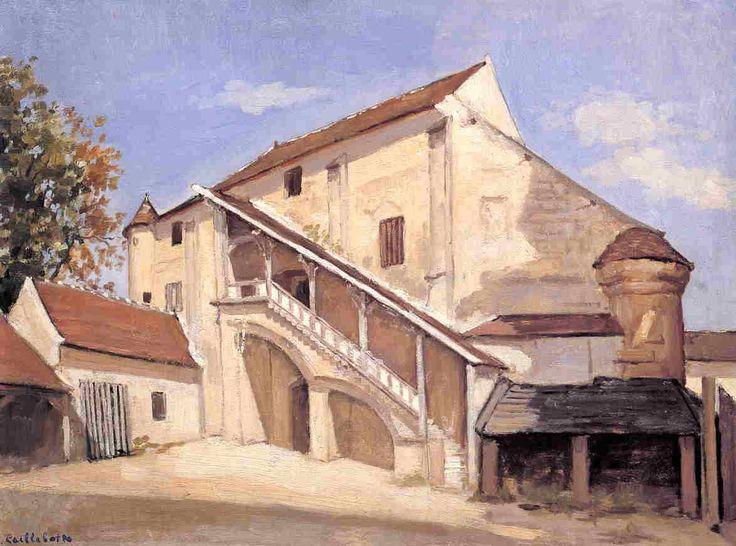 Gustave Caillebotte - Meaux (effet du soleil sur la vieille Salle Capitulaire)