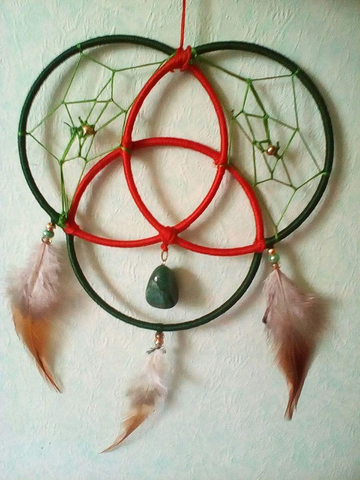 dreamcatcher Triquetra Celtique Féminin sacré