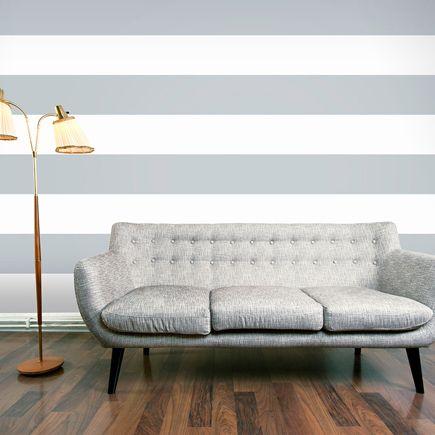 Las 25 mejores ideas sobre papel pintado leroy en pinterest papel pared ikea recibidores - Rayas horizontales pared ...