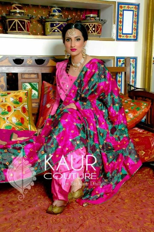 My dear friend and designer Bir from Kaur Couture