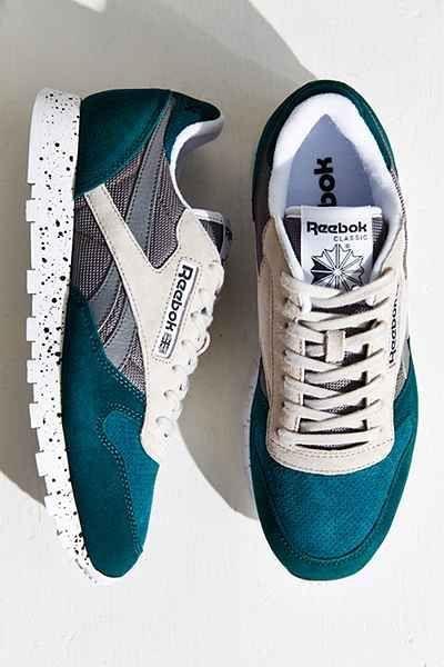 Tendance Chausseurs Femme 2017  Shoes  Tendance Chausseurs Femme 2017 Description Reebok Classic Leather SM Running Sneaker
