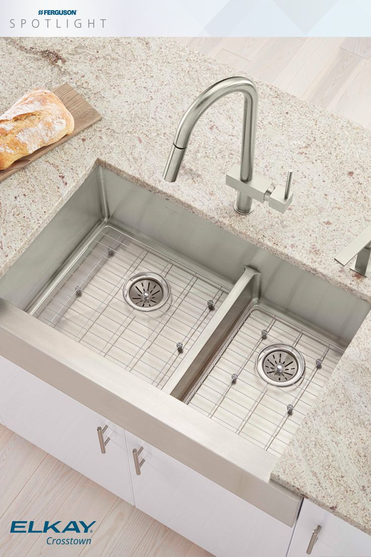 Elkay is proud to introduce two new Crosstown  stainless steel kitchen  sinks featuring Aqua Divide. 343 best Ideas for the Kitchen images on Pinterest   Spotlight