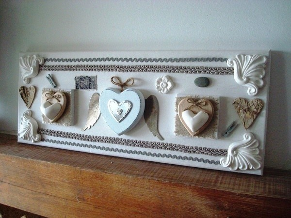 Cadre 3d cadre shabby pinterest deco and 3d for Cadre multi photos mural