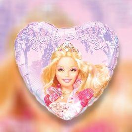 Happy Birthday Barbie Heart Theme