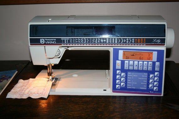 Husqvarna Viking Lily 530 535 Sewing Machine Owners Handbook Etsy In 2021 Husqvarna Viking Sewing Machines Viking Sewing Machine Sewing Machine