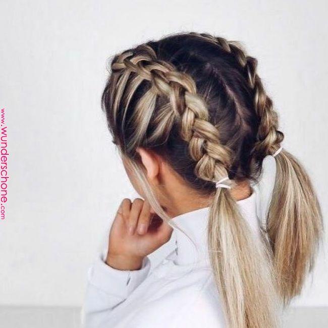 Schulterlange Haare Flechten 15 Kinderleichte Anleitungen Fur Jeden Tag Fris Frisuren Braids For Short Hair Lengths Braided Hairstyles Thick Hair Styles