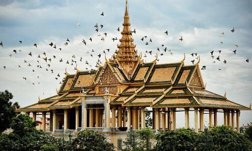 Pagoda de Plata - Nom Pen - Camboya