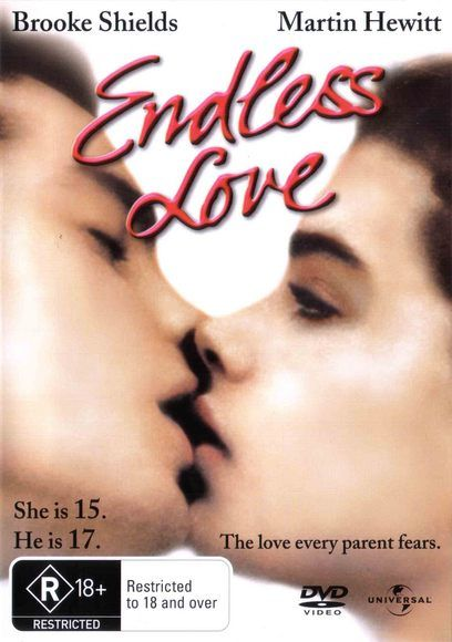 """""""Endless Love"""" - Brooke Shields and Martin Hewitt (the only time I snuck into an R rated film!)"""