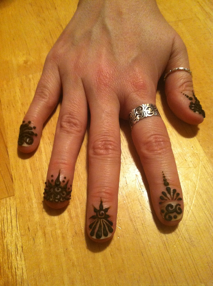Mehndi Designs For Nails : Images about henna nails on pinterest