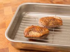 #How to cook duck breasts Step 6 - Leave to rest in a warm place for at least 10 minutes