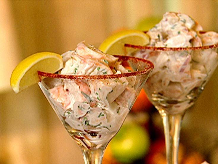 Lobster Salad Cocktail recipe from Down Home with the Neelys via Food Network
