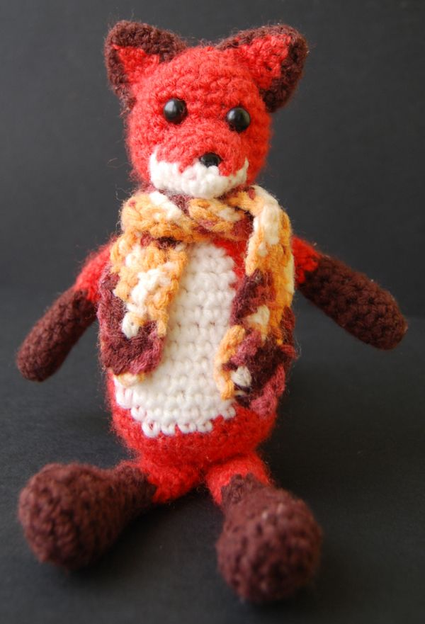 amigurumi fox crochet