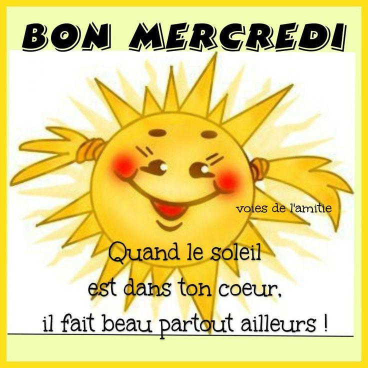 BON MERCREDI 2aee03394e9709b3d518866edcf6c20c--le-soleil-partie