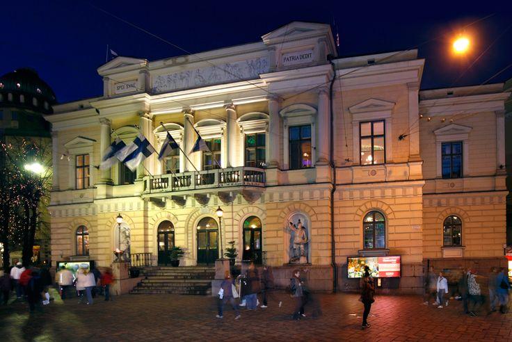 The Old Studenthouse (Vanha ylioppilastalo) in Helsinki