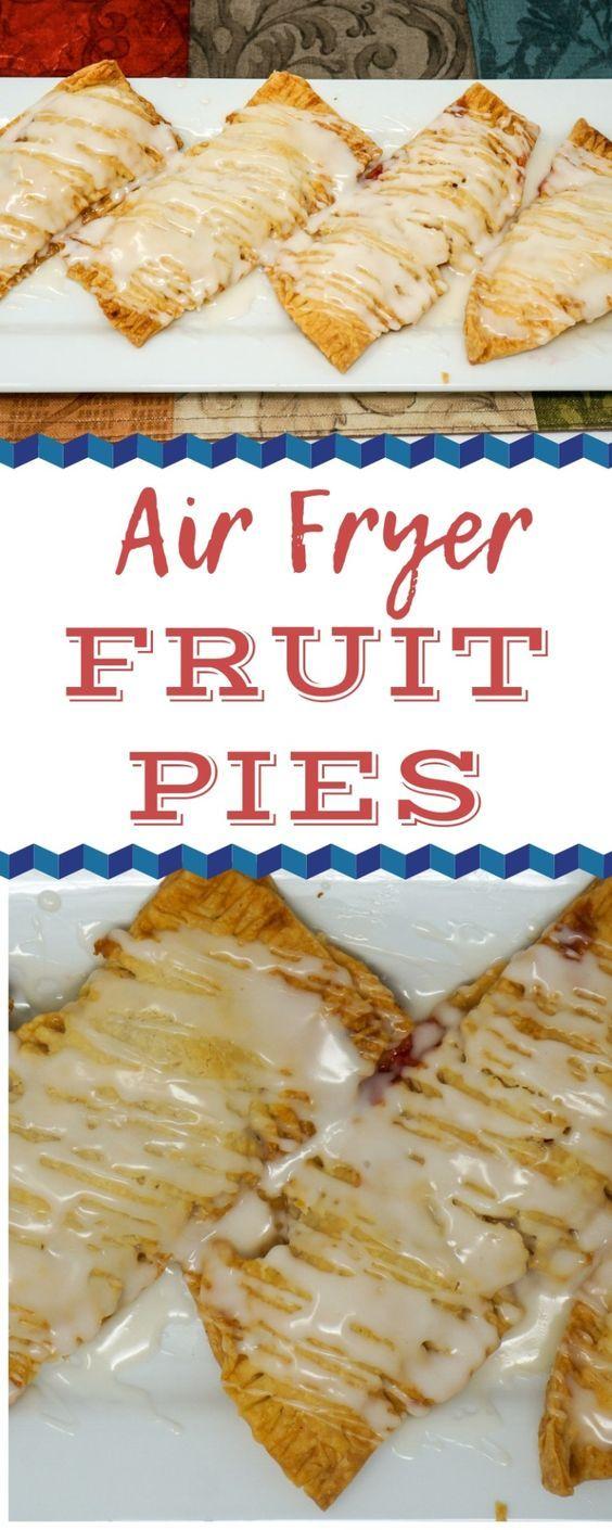 Air Fryer Fruit Pies Recipe Air Fryer Recipes Air